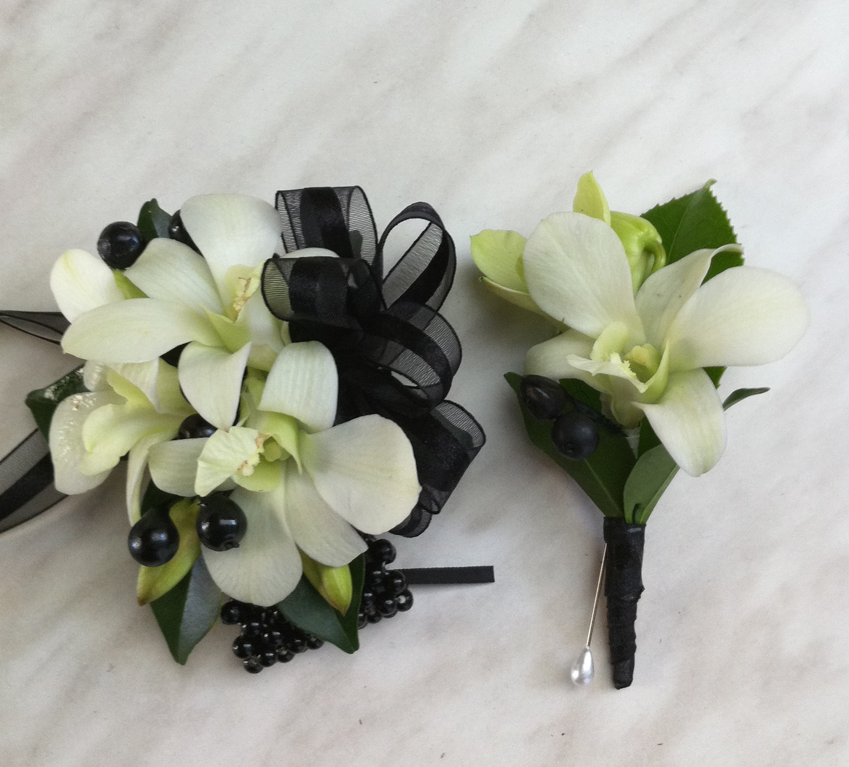 The Classic Formal corsage