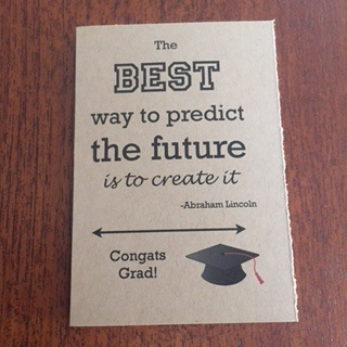 The Best Way to Predict the Future, Gift Card
